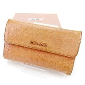 uk availability aa5bf eb0bb 楽天市場】miumiu 財布 がま口の通販