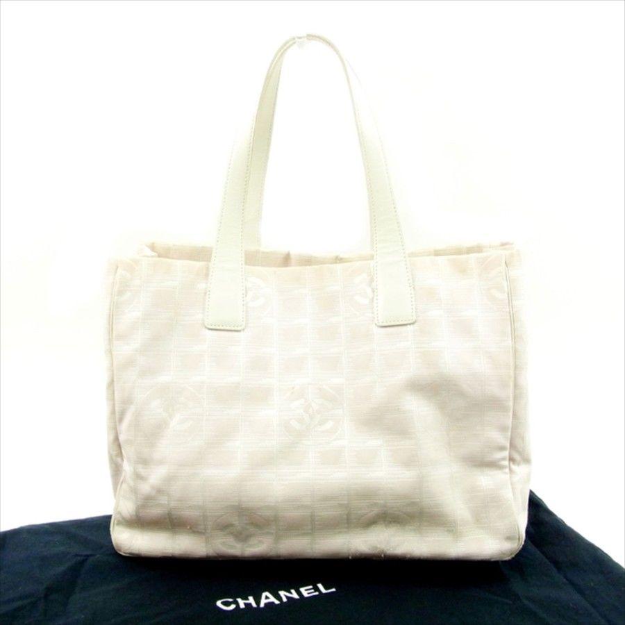 【中古】 シャネル トートバッグ /ショルダーバッグ Chanel ベージュ T4614s