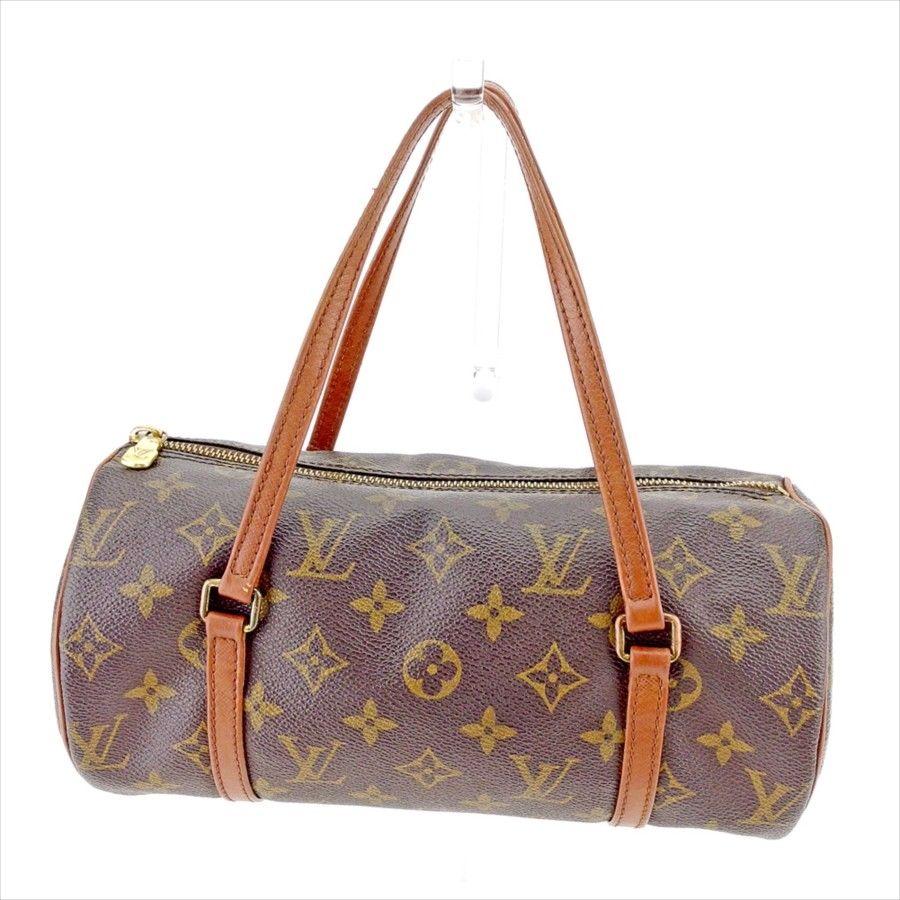 【中古】 ルイ ヴィトン ハンドバッグ 筒型バッグ Louis Vuitton ブラウン系 T5179s