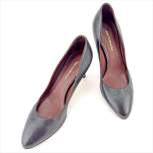 【中古】 ブルーノ マリ パンプス シューズ 靴 Bruno Magli ブラック T5768s