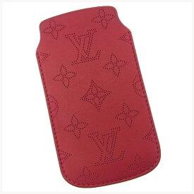 【ファッションセール】 【中古】 ルイヴィトン iPhone SE 5S ケース アイフォン5ケース ソフトケース マヒナ ユライユ(レッド) Louis Vuitton 【ルイ・ヴィトン】 T11629