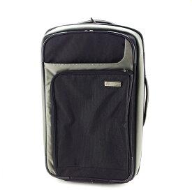 【中古】 ビクトリノックス Victorinox キャリーバッグ トラベルケース キャリーケース スーツケース メンズ可 ブラック×グレー 人気 A1667 .