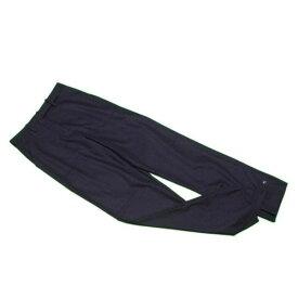 【中古】 マルタンマルジェラ Maison Margiela パンツ 裾デザイン レディース ♯40サイズ ブラック 毛 99%ポリウレタン 1% C3050 .