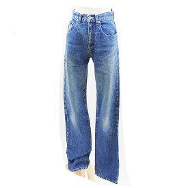 【中古】 ダナ・キャラン・ニューヨーク DKNY ジーンズデニム ブルー 綿100% E280 .