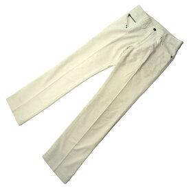 【中古】 エポカ EPOCA パンツ #44 ホワイト 綿100% F312s .