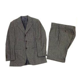 【中古】 ユナイテッドアローズ・ソブリン UNITED ARROWS SOVEREIGN スーツ メンズ ♯44サイズ テーラージャケット×センタープレスパンツ グレー T12205
