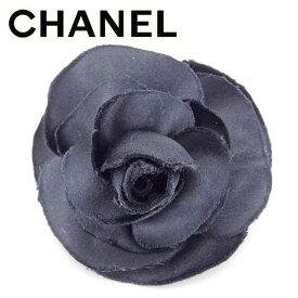 【中古】 シャネル CHANEL コサージュ アクセサリー レディース カメリア ブラック ヴィンテージ 人気 T9549