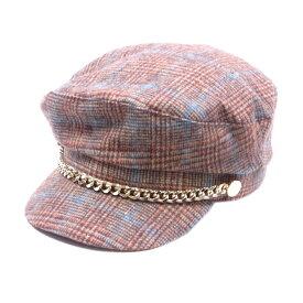 【中古】 ザラ ZARA 帽子 キャスケット レディース ♯USA Sサイズ ベージュ ブラウン ゴールド系 キャンバス 【ザラ】 T16661 brand