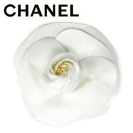 【中古】 シャネル CHANEL コサージュ アクセサリー レディース カメリア ホワイト 白 ヴィンテージ 人気 T9836
