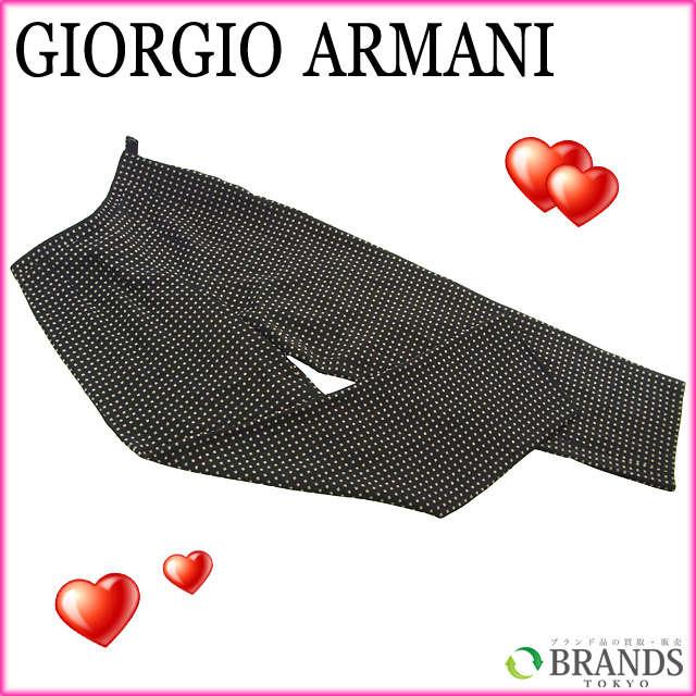 【中古】 【送料無料】 アルマーニ ARMANI パンツ ドット ブラック×ベージュ ウール34%×アセテート20%×シルク10% A272 .