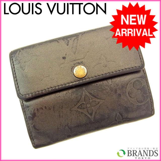 【送料無料】 ルイヴィトン Louis Vuitton コインケース モノグラムマット ブラック 【中古】 B145