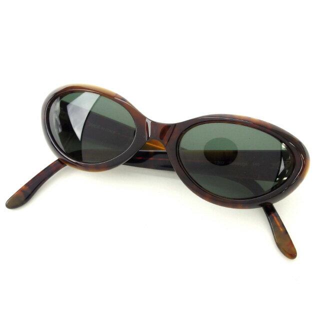 【中古】 【送料無料】 フェンディ FENDI サングラス メンズ可 べっ甲 ブラウン×ブラック (あす楽対応)人気 良品 Y1622