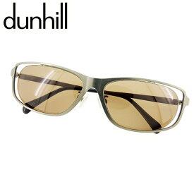 【中古】 ダンヒル dunhill サングラス アイウエア メンズ可 シルバー ブラック 人気 セール E1235