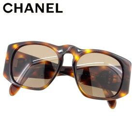 8107c26720e7 【中古】 シャネル Chanel サングラス メガネ アイウェア ブラウン ベージュ ゴールド フルリム ココマーク キッズ