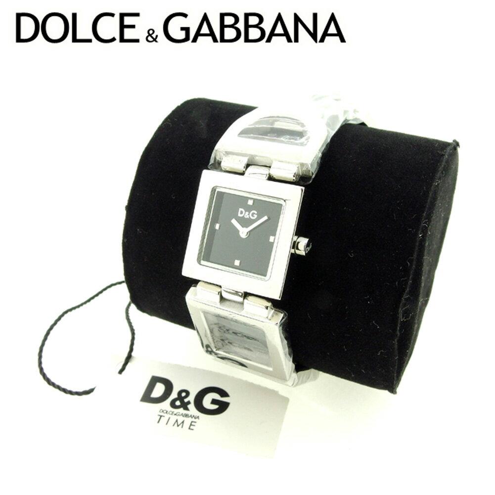 【中古】 【送料無料】 ドルチェ&ガッバーナ DOLCE&GABBANA 腕時計 メンズ可 シルバー (あす楽対応) 未使用品 Y2297 .