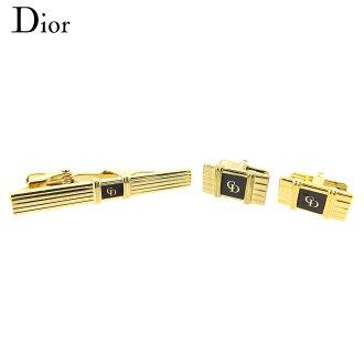 Dior Dior cuff tiepin men gold GP popularity quality goods T8821