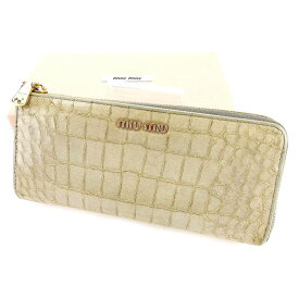 wholesale dealer 4413f b18e8 楽天市場】財布 メンズ 長財布(ブランドミュウミュウ)の通販