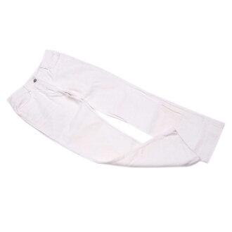 Celine CELINE underwear Lady's ♯ 36 size macadam plate white X silver cotton C/100 % popularity D1771.