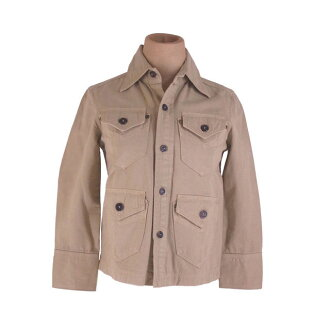 Single beige quality goods popularity E1198 with the Dis kelp grouper ard DSQUARED2 jacket Lady's ♯ 38 size button pocket.