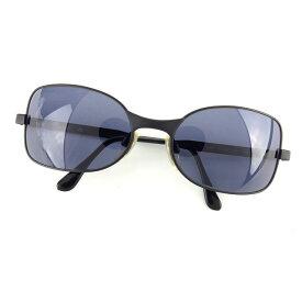【中古】 【送料無料】 シャネル CHANEL サングラス メガネ メンズ可 サイドロゴ入り フルリム 07800 90405 ブラック プラスティック×ブラック金具 (あす楽対応)良品 H283s
