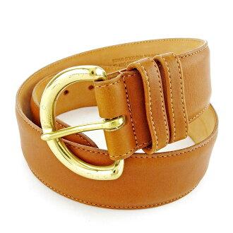 Coach belt ♯ SMALL camel X gold H568s.