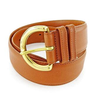 Coach belt ♯ SMALL camel X gold H569s.