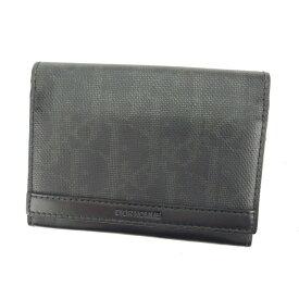 【中古】 【送料無料】 ディオール オム 名刺入れ カードケース ブラック L920s