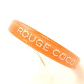 【中古】 【送料無料】 シャネル バングル レディース オレンジ Chanel M1108