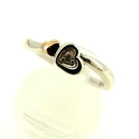 【中古】 【送料無料】 クレージュ 指輪 #9 シルバー×ゴールド Q199s