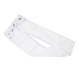 【中古】 【送料無料】 リプレイ ジーンズ カラーステッチ パンツ レディース ホワイトデニム ♯27サイズ ヴィンテージ加工 ホワイト×ブルー系 Replay T12503