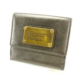 【中古】 【送料無料】 マークジェイコブス Wホック財布 レディース Francesco Biasia T14115