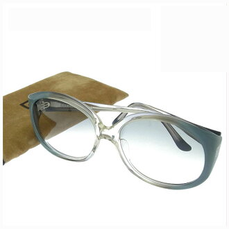 Square model ELKA-104 clear gray system plastic (correspondence) quality goods sale Y2751 with ジバンシィ GIVENCHY sunglasses glasses men's possible side logo motif