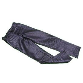 【中古】 【送料無料】 バンソン VANSON パンツ ストレート メンズ ♯28サイズ レザー ブラック 超 人気 C3058s