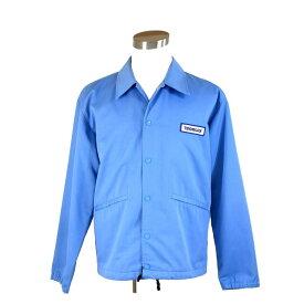 【中古】 【送料無料】 ( 美品 ・即納) テンダーロイン TENDERLOIN ジャケット メンズコーチ ブルー PE 65%C 35% G246