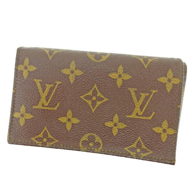 【中古】 【送料無料】 ルイ ヴィトン Louis Vuitton L字ファスナー財布 二つ折り財布 メンズ可 ヴィンテージ モノグラム ブラウン モノグラムキャンバス 人気 良品 L1456