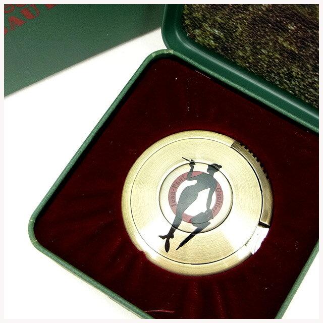 【中古】 【送料無料】 ジャンポール・ゴルチェ Jean Paul Gaultier ライター /レディースメンズ可 UFOライター BBシルエット(女) ゴールド メタル (あす楽対応)(奇跡的入荷・未使用品) Y536s