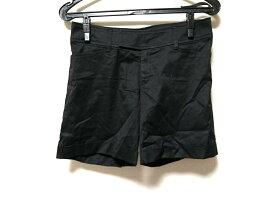 Le souk(ルスーク) ショートパンツ サイズ36 S レディース 黒【20190914】【中古】【dfn】