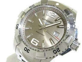LONGINES(ロンジン) 腕時計 ハイドロ コンクエスト L3.647.4 メンズ ベージュ【20190508】【中古】【dfs】
