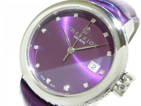 CHARRIOL(シャリオール) 腕時計 コロンブス CO36Q レディース プルーン【20190522】【中古】【dfs】