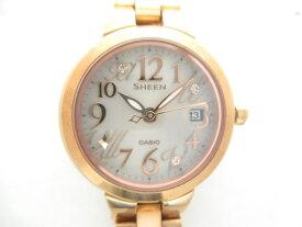 CASIO(カシオ) 腕時計 SHEEN SHE-4506 レディース ライトグレー【20191207】【中古】【dfn】