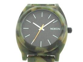NIXON(ニクソン) 腕時計 THE TIME TELLER ACETATE - メンズ 黒【20190820】【中古】【dfn】