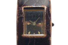 ZUCCA(ズッカ) 腕時計 - レディース 革ベルト 黒【20200816】【中古】【dfs】