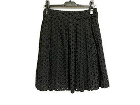 【新着】beautifulpeople(ビューティフルピープル) スカート サイズ36 S レディース 黒【20190927】【中古】