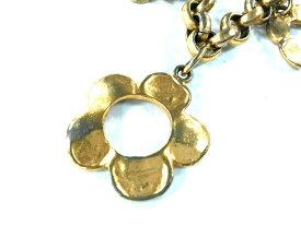 【新着】KENZO(ケンゾー) ネックレス美品■ 金属素材 ゴールド フラワー【20200630】【中古】