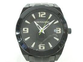 INDEPENDENT(インディペンデント) 腕時計 1513-003073-01 メンズ 黒【20201013】【中古】【dfn】