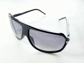 【新着】Dior HOMME(ディオールオム) サングラス - KCW04BPT7L 黒×シルバー プラスチック×金属素材【20201202】【中古】