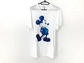 【新着】NeilBarrett(ニールバレット) 半袖Tシャツ サイズM レディース美品■ 白 ミッキー【20200924】【中古】