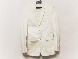 【新着】Dior HOMME(ディオールオム) ジャケット サイズ44 M メンズ - 白 長袖/春/秋【20210111】【中古】