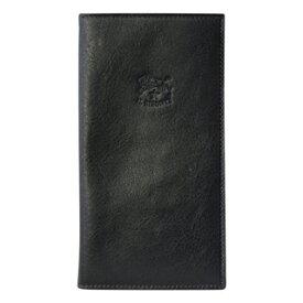 イルビゾンテ 長財布 二つ折り長財布 薄マチ C0616 P 153 BLACK ブラック 黒 P COWHIDE LEATHER メンズ/レディース 【あす楽対応_関東】 【Luxury Brand Selection】