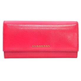 バーバリー財布 二つ折り長財布 3975041 BRIGHT CRIMSON PINK ピンク【あす楽対応_関東】